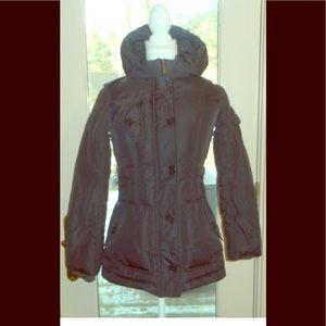 Add Sz Xs brown jacket coat